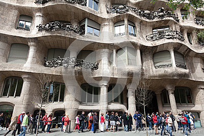 Casa Mila Editorial Photography
