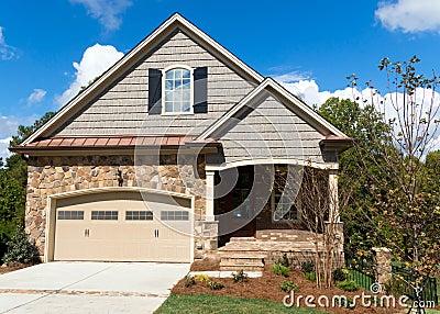 Casa nova da casa de campo