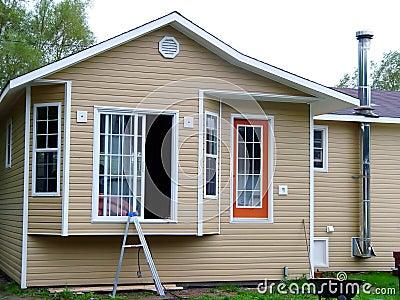 Casa nova que começ construída