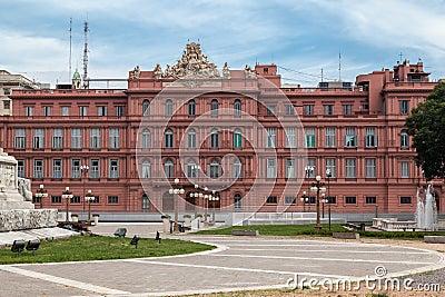 Casa Rosada Back Facade Argentina