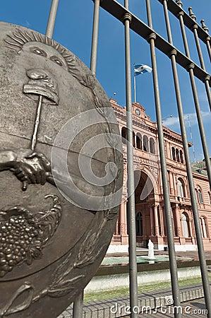 Casa Rosada at Buenos Aires