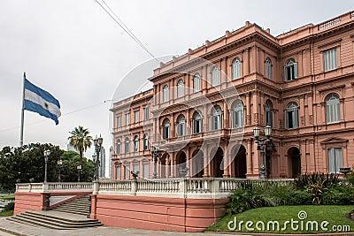 Casa Rosada Side Facade Argentina