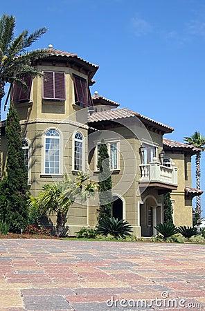 casa spagnola di stile immagine stock immagine 611851