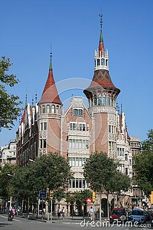 Casa Terradas in Barcelona