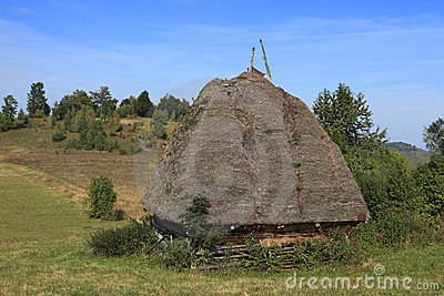 Casa tradicional de Transylvanian