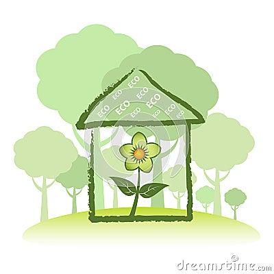 Casa verde di Eco
