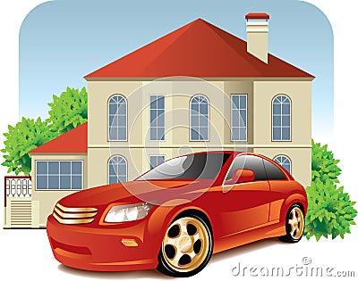 coche casa: