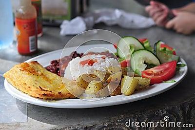 Casado Typical Costa Rican Food