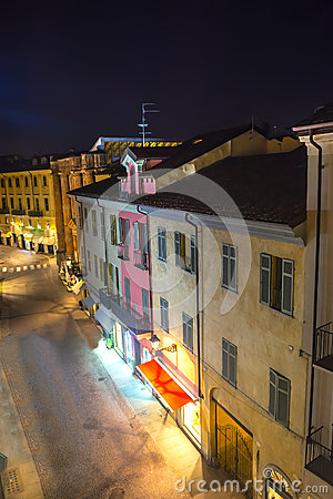 Casale Monferrato by night