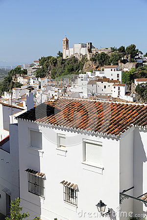 Casares village in Spain
