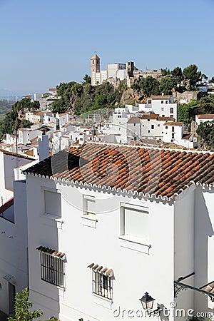 Casares village in Spain