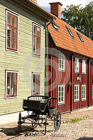 Casas escandinavas t picas de la madera linkoping suecia - Casas escandinavas ...