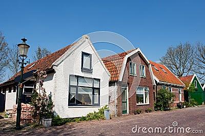 Casas holandesas velhas fotos de stock royalty free for Casa holandesa moderna