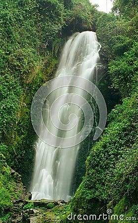 Cascada De Peguche Waterfall, Ecuador