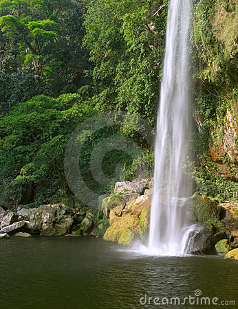 Free Cascada (waterfall) Misol Ha Stock Photography - 884942