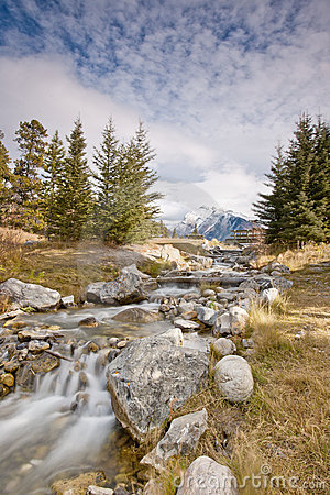 Free Cascade Creek Royalty Free Stock Image - 17256676