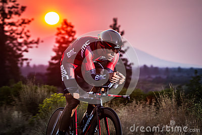 2014 Cascade Cycling Classic Road Race Editorial Stock Photo