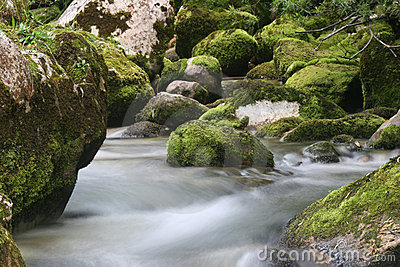Cascades Of Soca River Stock Photos - Image: 7922203
