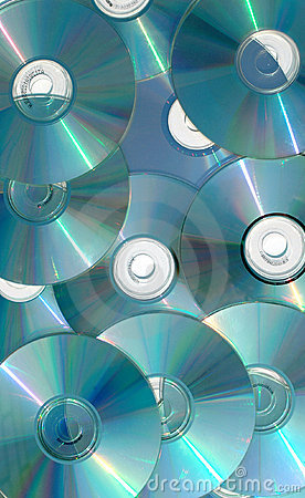 Free Cascading CDs Stock Images - 99854
