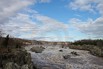 Cascading Rapids at Great Falls, VA