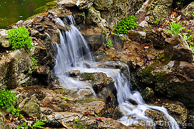Cascading Waterfall Stock Photography - Image: 5461932
