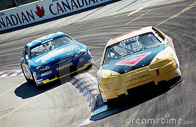Cascar car race Editorial Image