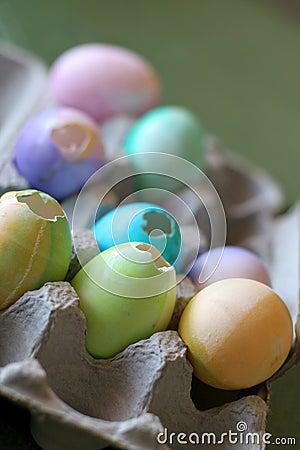 Cascarones Eggs