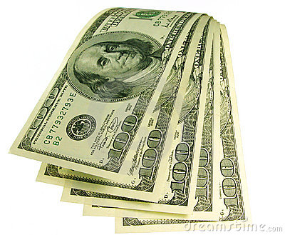 Cascata di soldi