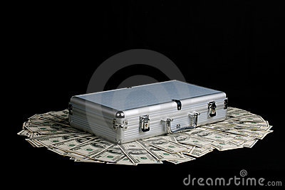 Case full of Cash