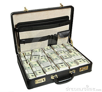 Free Case Full Of Dollar Stock Photos - 10020973