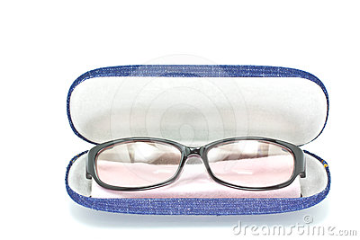 Case for the glasses.