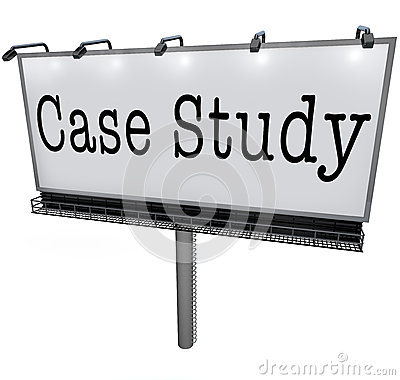 Case Study Words Billboard Banner Sign Example Anecdote