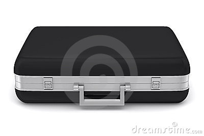 Case on white background