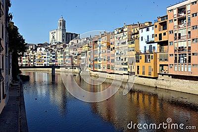 Cases de l Onyar, Catalonia, Spain