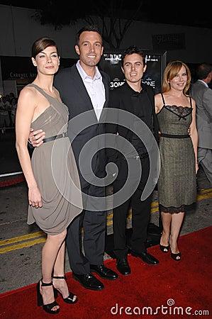Casey Affleck, Ben Affleck, Amy Ryan, Michelle Monaghan Editorial Stock Photo