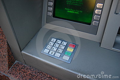 Cash or ATM machine