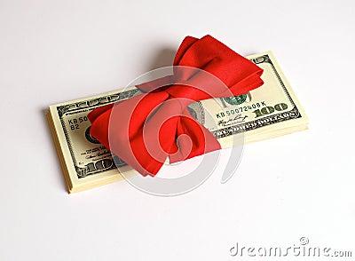 Cash Bonus as Gift for Christmas
