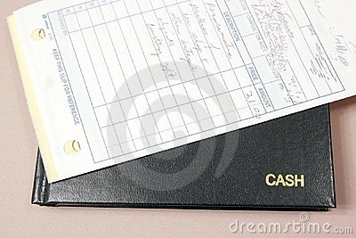 Cash Book and Receipts