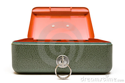 Cash Box (Front View)