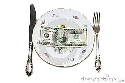 Cash dessert