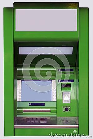 The cash dispense