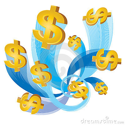 Free Cash Flow Dollar Royalty Free Stock Image - 7234066