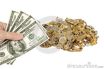 Money and jewellery