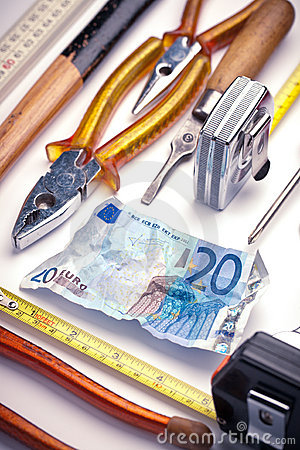 Cash and hand tools