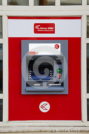 Nova KBM ATM Editorial Stock Image