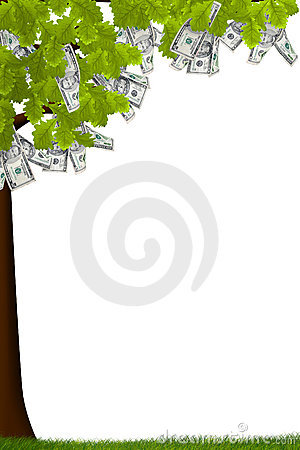 Free Cash Tree Stock Image - 2728931