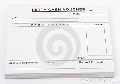 Cash Voucher Stock Photo - Image: 3447220
