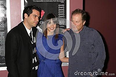 Cash Warren, Jessica Alba, Stacy Peralta Editorial Stock Image