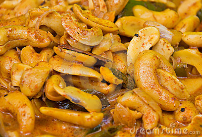 Cashew Nut Curry Royalty Free Stock Photography - Image: 21028667