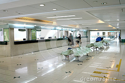 Cashier counter hall Editorial Stock Photo